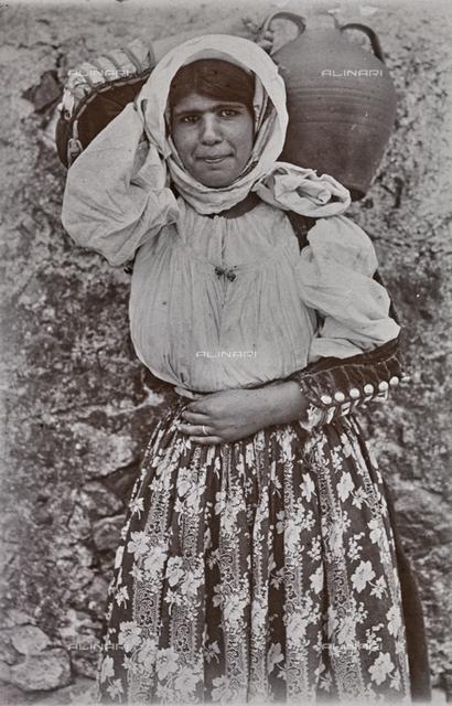 Female portrait, Sardinia