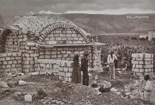 Brick building dome-shaped, Sardinia