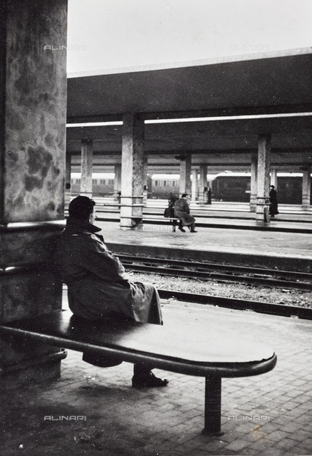 Railroad tracks of Santa Maria Novella Station, Florence