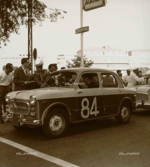 Umbria Auto Ride: car on the starting grid