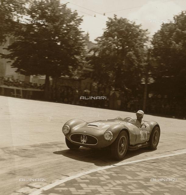 Cup of Perugia - Umbria Auto IV Ride: car racing of Luigi Musso