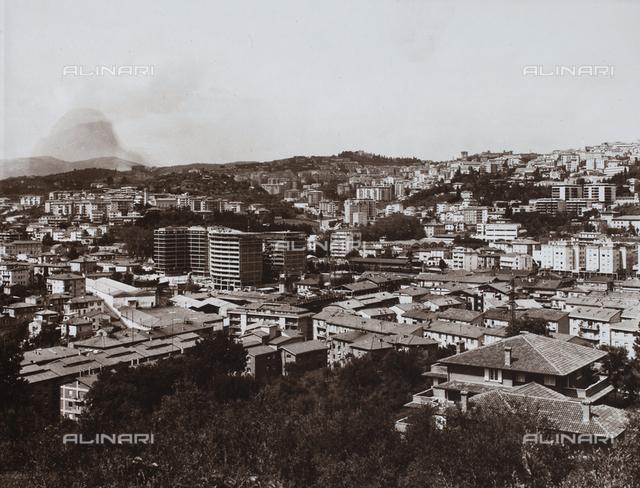 View of Perugia with the Assicurazioni Generali Building