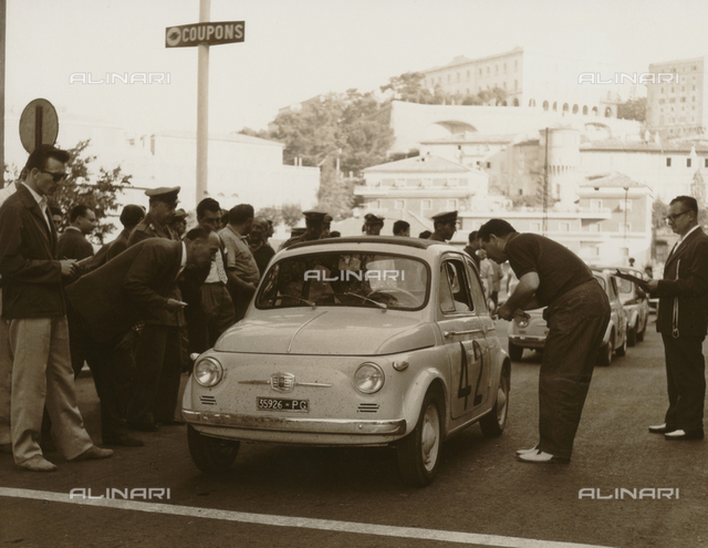 Umbria Auto Ride: cars on the starting grid