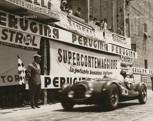 Cup of Perugia - Umbria Auto Ride: a racing car in the race