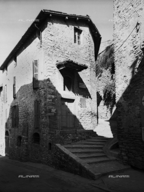 A house in the city of Assisi
