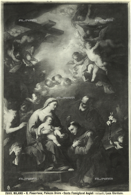 Holy Family with Saint Anthony of Padua, Brera Picture Gallery, Milan.