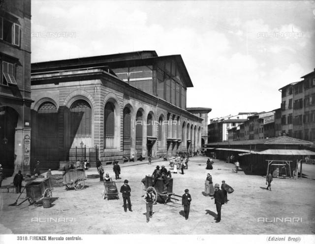 The Mercato Centrale di San Lorenzo, Florence