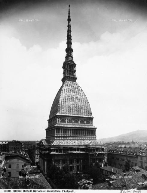 Mole Antonelliana, Alessandro Antonelli, Turin.