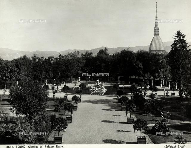 Garden, Royal Palace, Turin.