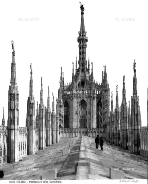 Base of the cupola, Cathedral, Milan