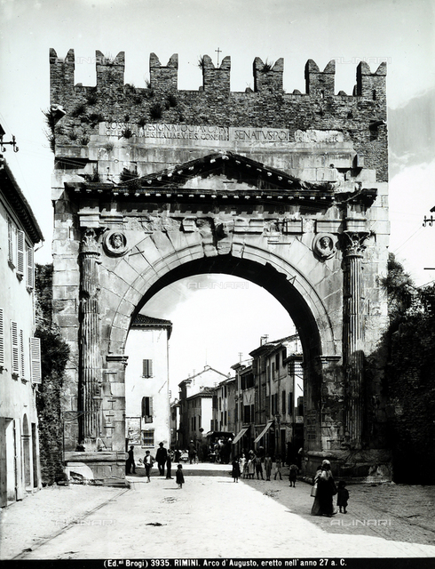 Arch of Agusto, Rimini.