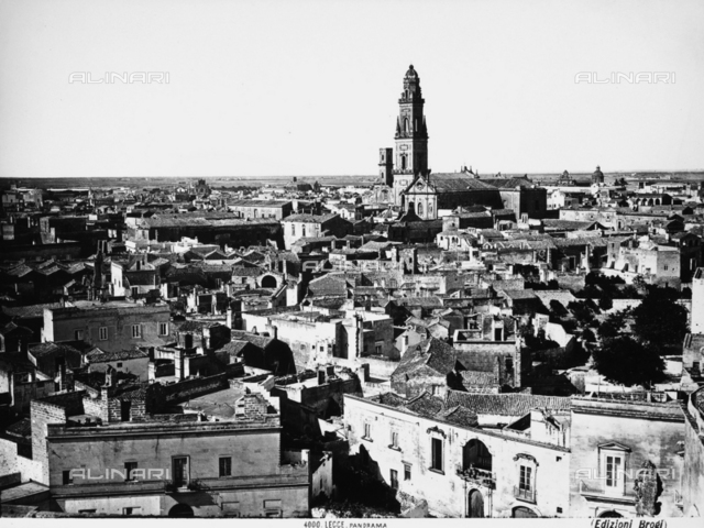 Panorama of Lecce