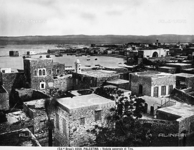 General view of the City of Tyre.