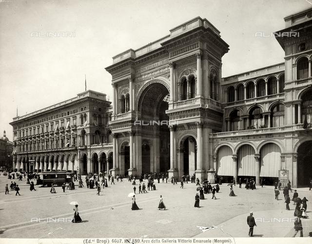 Galleria Vittorio Emmanuele II, Milan