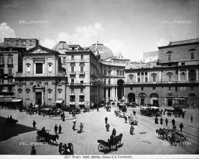 Faà§ade of the church of San Ferdinando, Naples