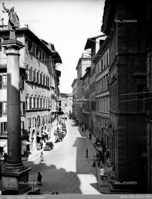 Via Tornabuoni in Florence