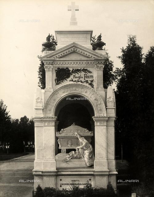 The Fusetti family shrine, Monumental Cemetery, Milan