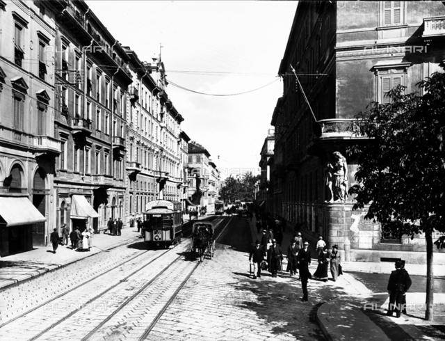 Principe Umberto Avenue in Milan