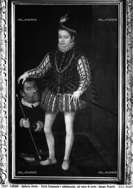 Portrait of Charles Emmanuel I, Duke of Savoy, with a dwarf, Galleria Sabauda (Savoy Gallery), Turin.