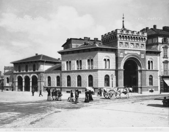 The Rivoli train station in Turin.