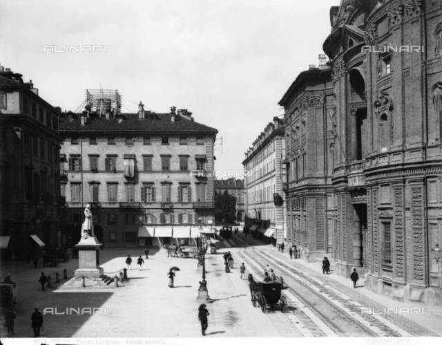 Piazza Carignano, Turin