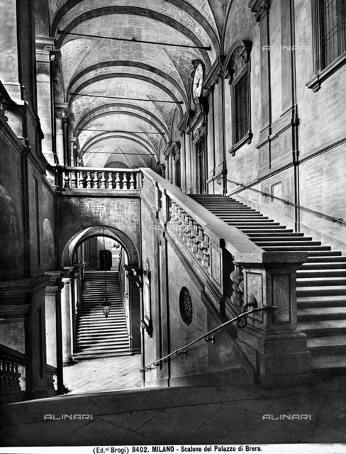 Grand Staircase, Brera Gallery, Brera Palace, Milan