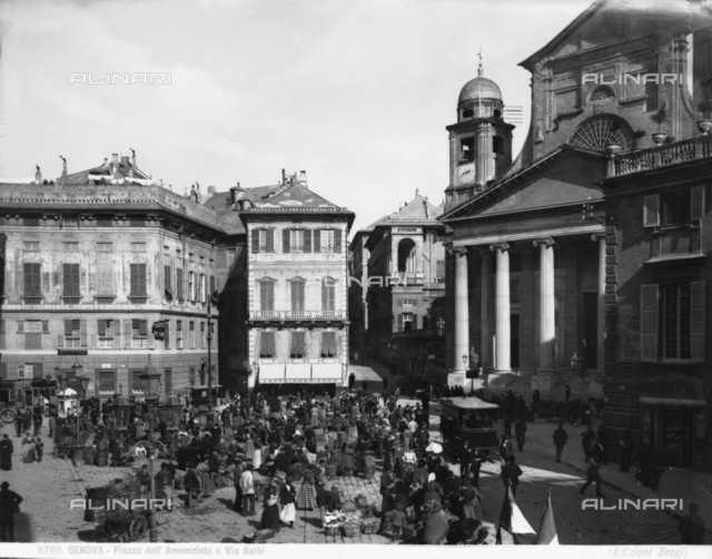 Santissima Annunziata del Vastato Church, piazzetta Andorlini, Genoa