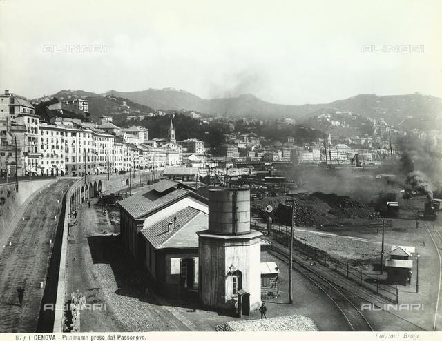 View of Genoa from Passonovo