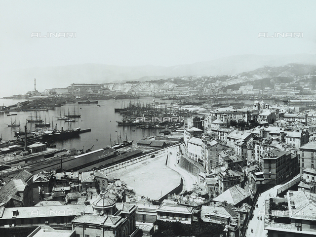 View of Genoa