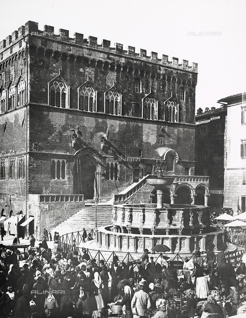 Palazzo dei Priori or Palazzo del Comune (City Hall), Perugia, Umbria