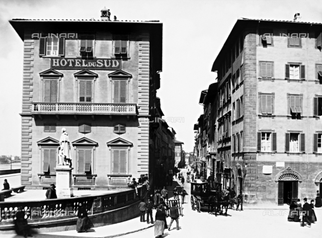 Piazza Goldoni, Hotel du Sud, Florence