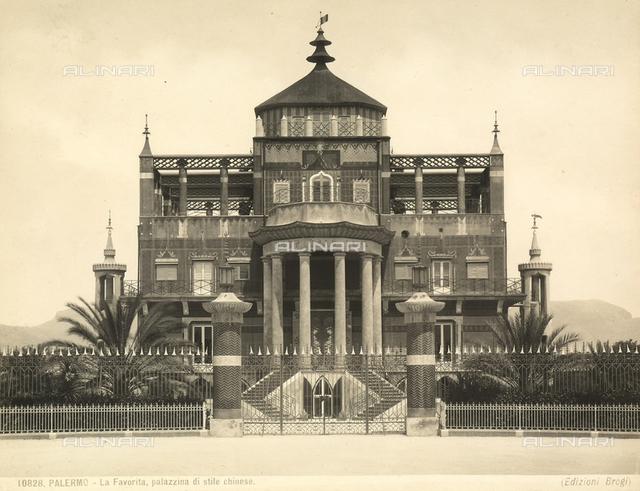 Little Chinese Palace, Favorita Park, Palermo