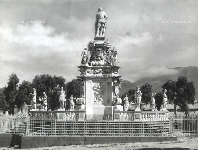 Monument to Philip V, Palermo