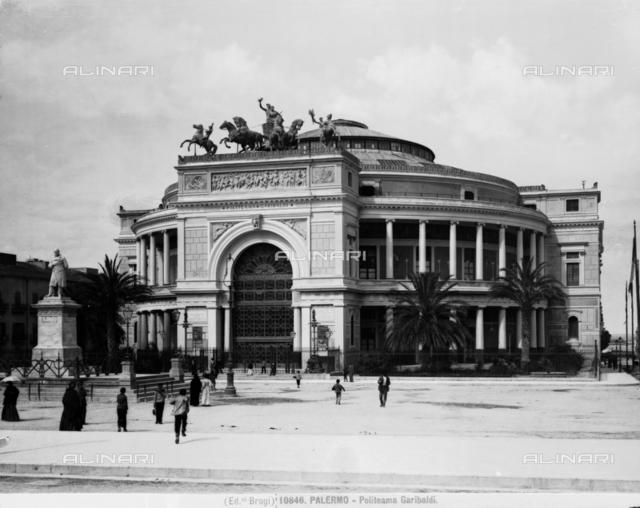 Politeama Theater, Palermo