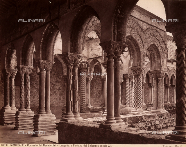 Cathedral cloister, Monreale