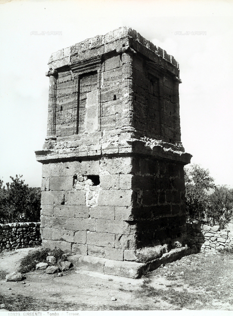 Theron's Tomb, Valley of the Temples, Agrigento