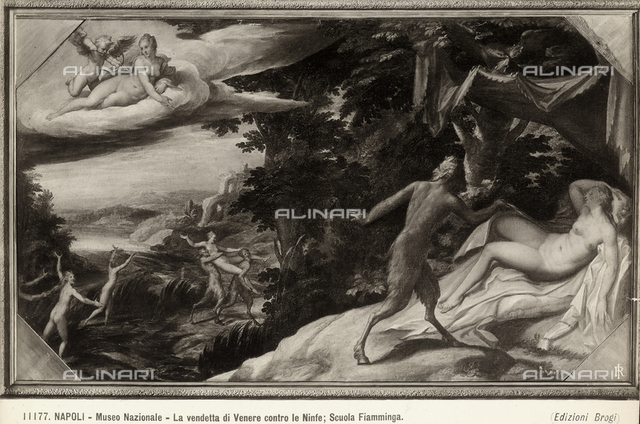 Revenge of Venus against the Nymphs, Museum of Capodimonte, Naples.