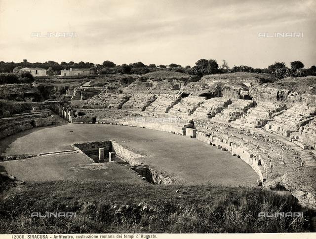 Roman amphitheater, Syracuse