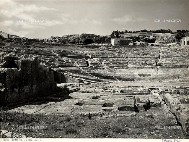 Greek Theater, Neapolis Archaeological Park, Syracuse