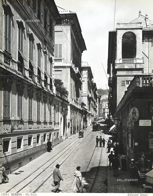Balbi Street in Genoa