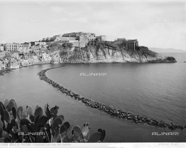 The Castle of Baia on the island of Procida.