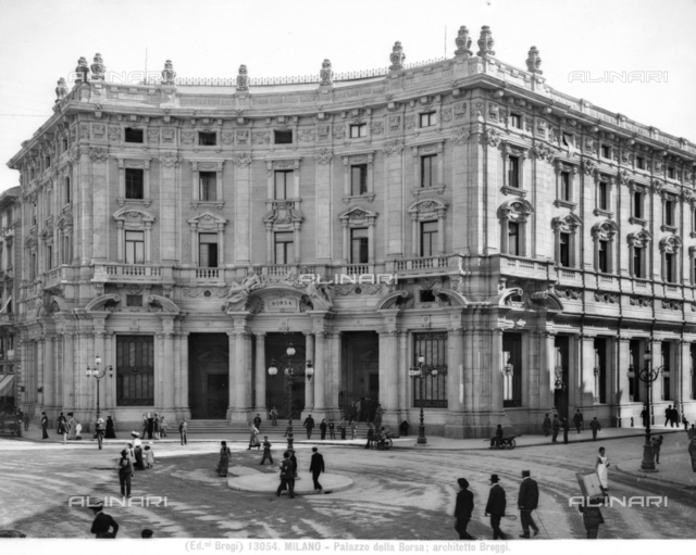 Stock Exchange Palace, Piazza Cordusio, Milan