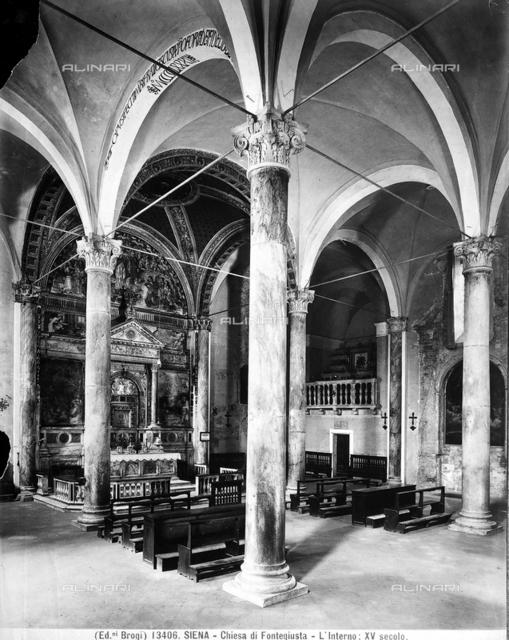 Fontegiusta Church, Siena.
