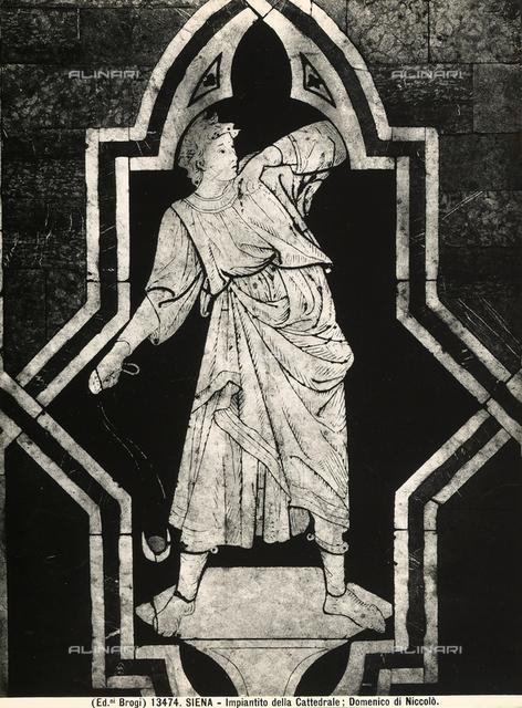 David, Cathedral floor, Siena
