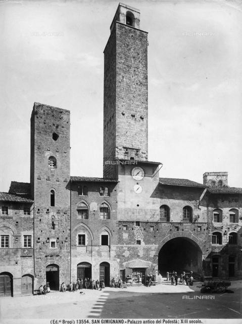 Palazzo del Podestà, San Gimignano, Siena