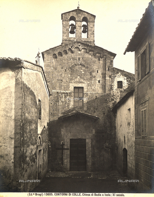 Church, Abbey of San Salvatore, Abbadia Isola