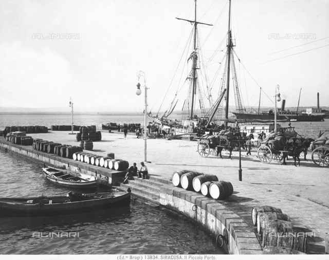 The small port of Syracuse
