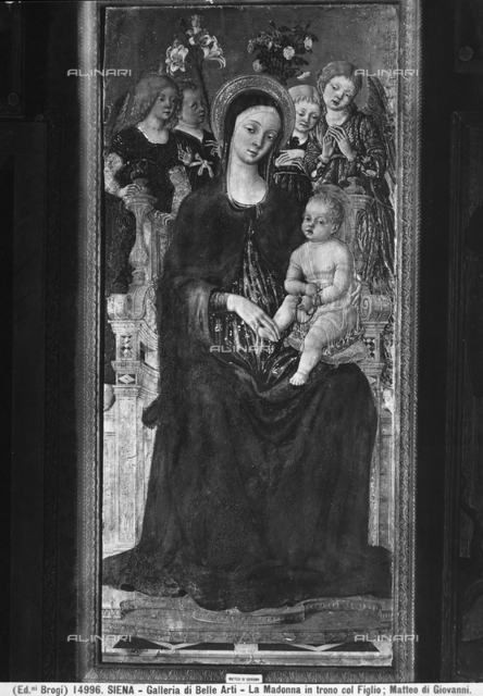 Madonna with Child and angels, National Picture Gallery, Siena