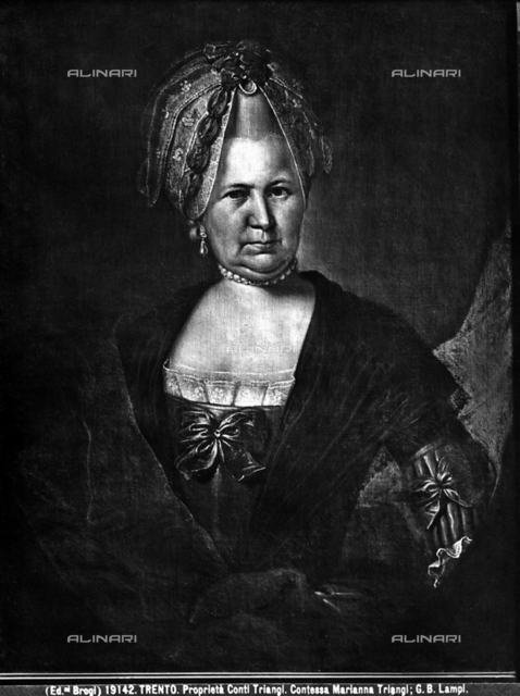 Portrait of Marianna Triangi, formerly Triangi property, Trento