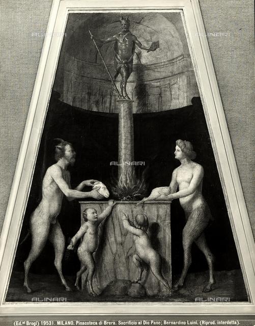 Sacrifice to the god Pan, Brera Gallery, Milan